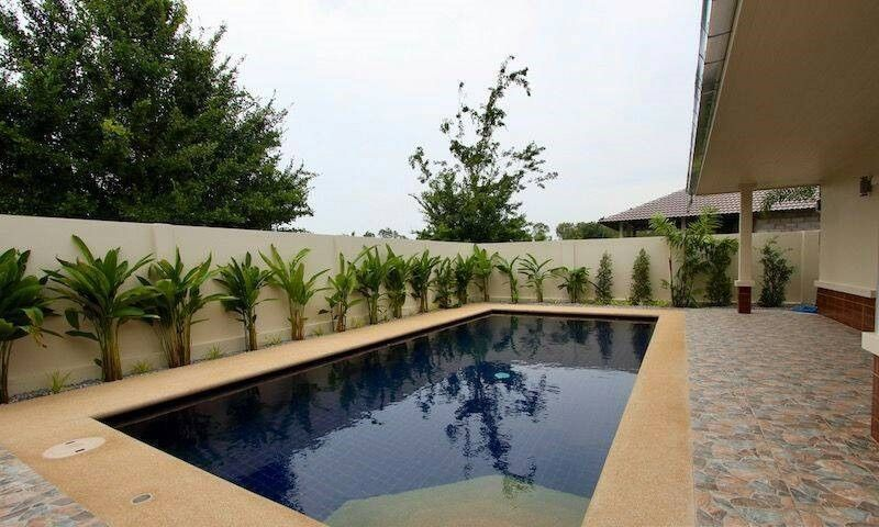 New 3Bdr Pool Villa Walk to White Sands Beach in Khao Kalok