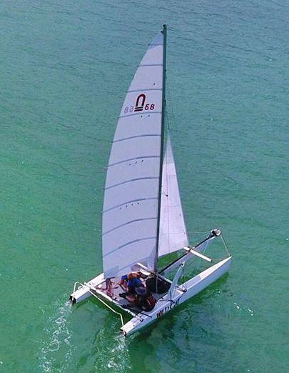19 ' Nacra 5.8 Catamaran