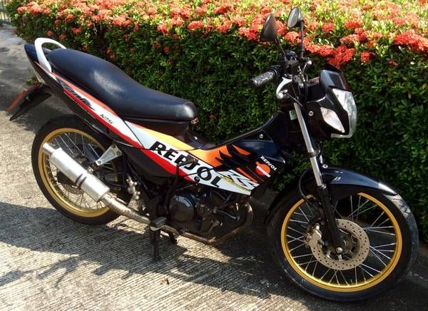 Sonic Repsol just been modified to 160cc 5 speed in