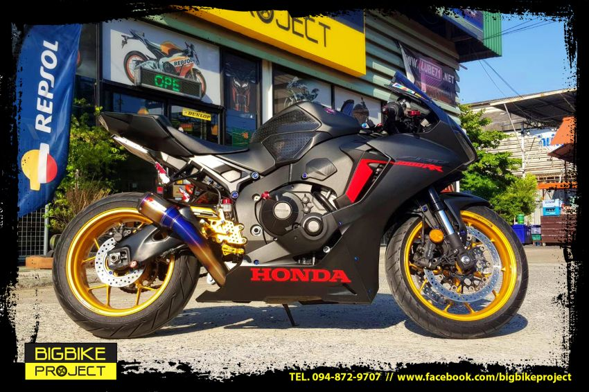 Honda CBR1000rr latest model