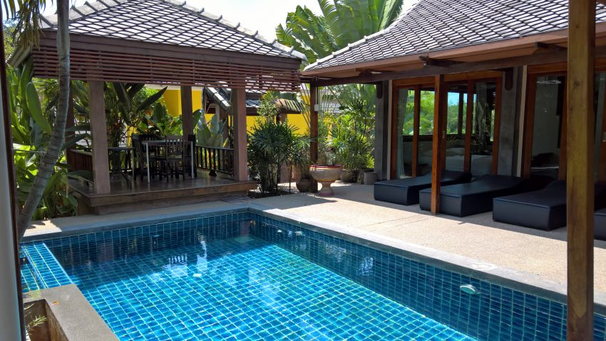 Pool Villa for Rent Khanom