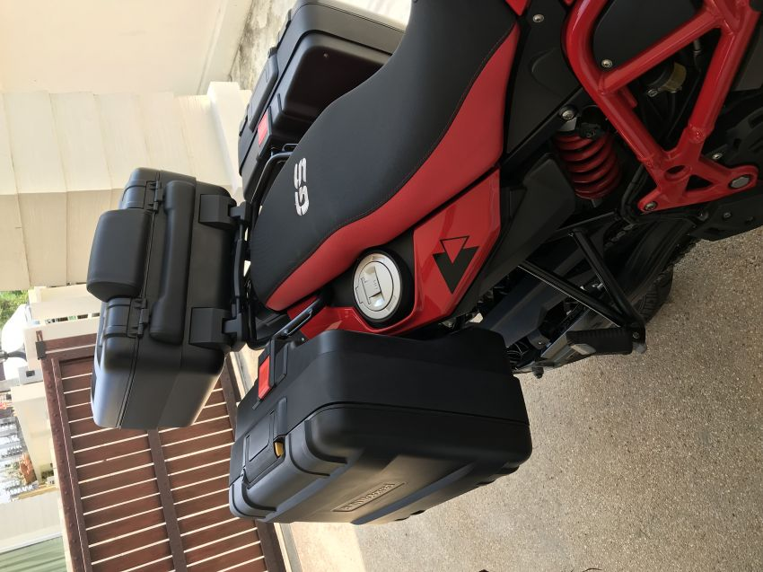BMW Panniers for Gs700 / Gs 800
