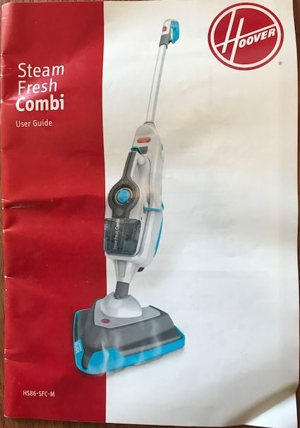 Steam Mop Hoover Steam Fresh Combi 2in1and a Handheld Vacuum Cleaner
