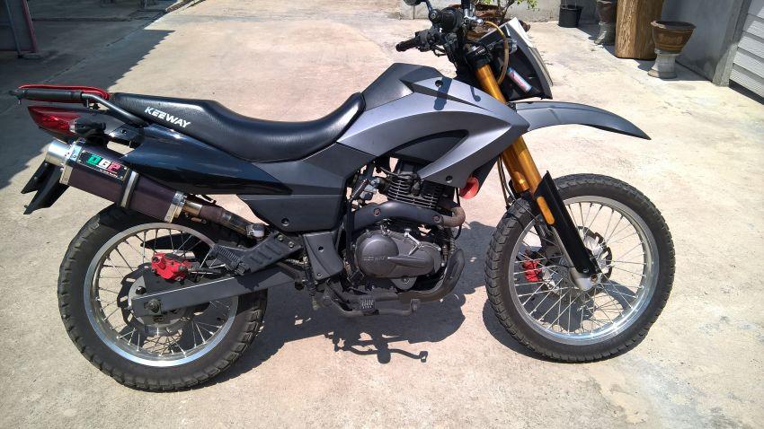 Keeway TX 200 Enduro