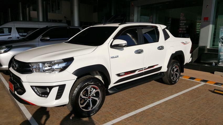 2017 Toyota Hilux Revo TRD Sportivo