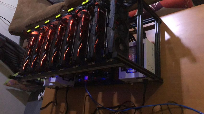 8x 1080ti Mining Rig FOR SALE