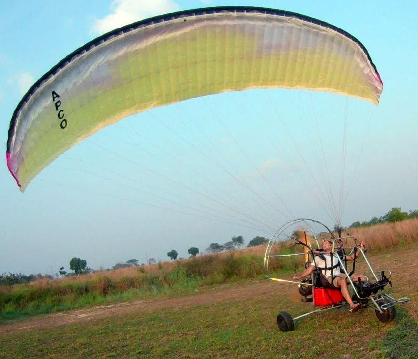 Paramotor Rotax 503 Trike Apco Tandem Wing 42m2