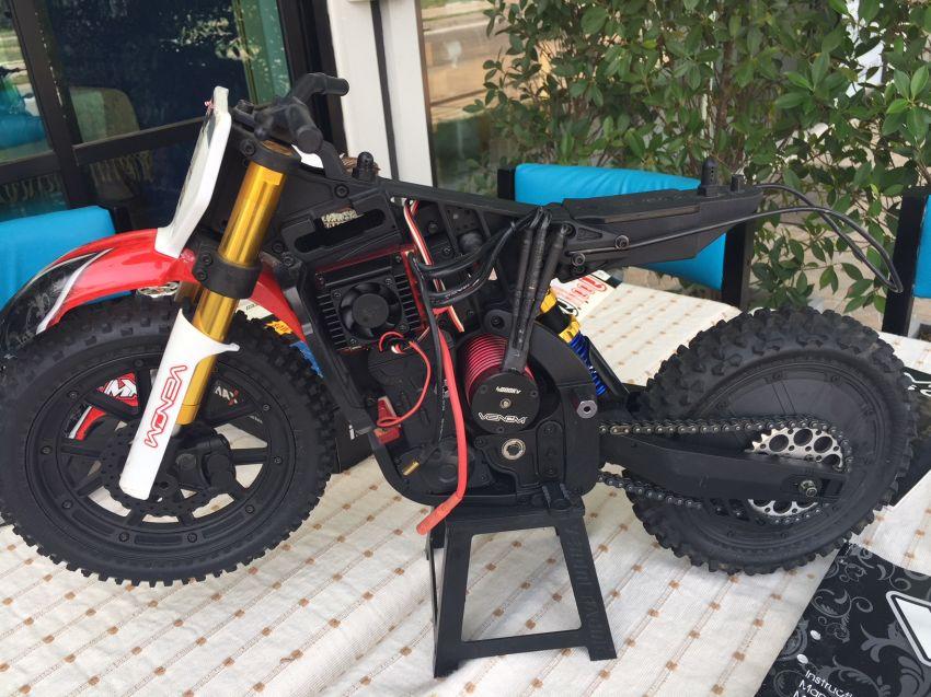 Rc Motocross Venom VMX 450