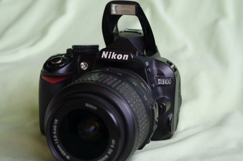 Nikon D3100 DSLR Camera Black Body