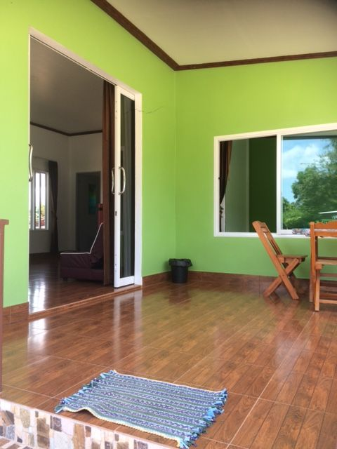 Recently built detached one bedroom house for rent