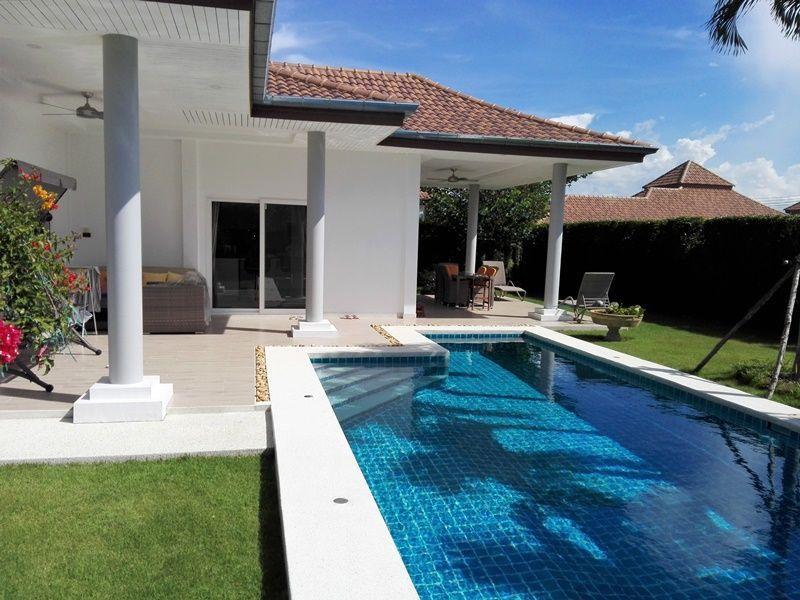Fully Furnished Executive  3 Bedroom 2 Bath Pool Villa on Large 600 sqm. Plot