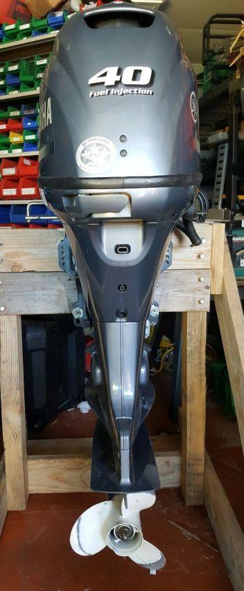 Used Yamaha 40HP 4-Stroke Outboard Motor