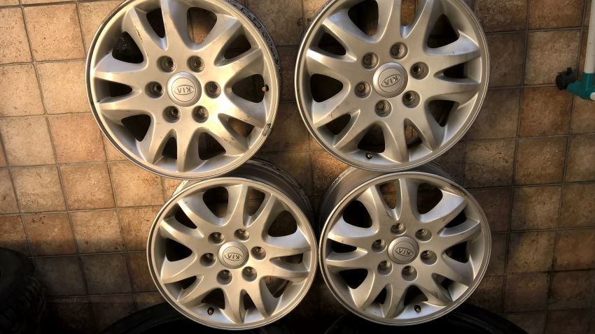 Wheels set of 4 -  17