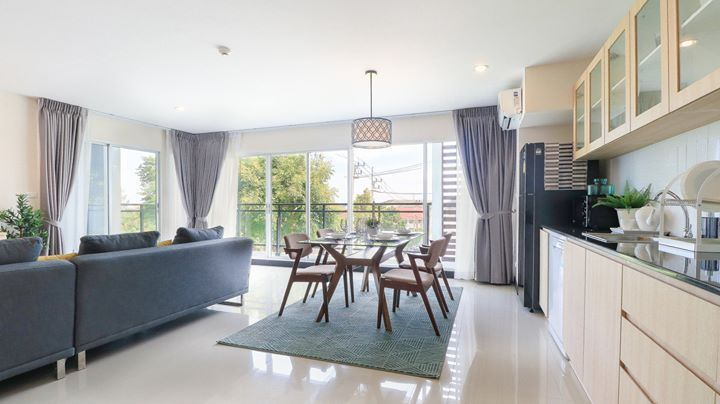 Price Reduced : Freehold 3brd condo Fully Furnished, Hua Hin, Thailand