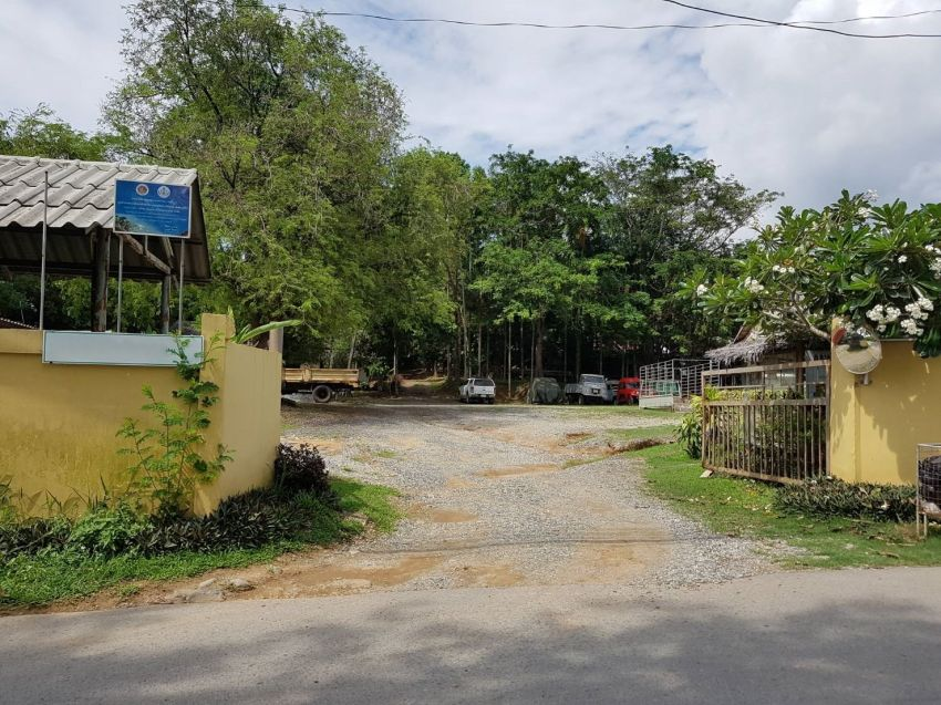 Land for sale in Chalong, Phuket, 4 rai