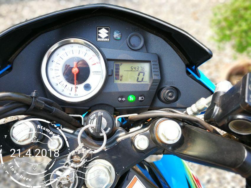Suzuki Raider 150 R - low mileage
