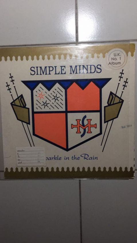 LP Vinyls record Simple Minds