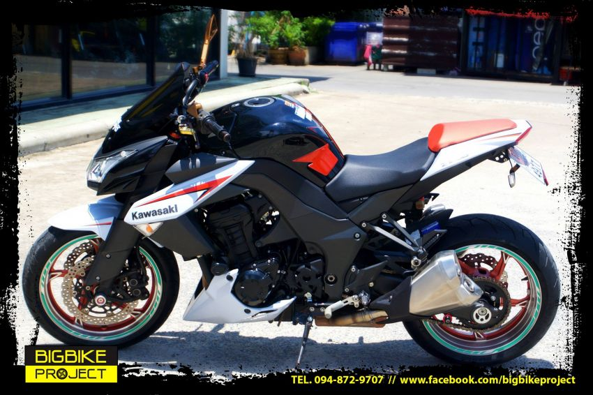 Kawasaki Z1000 limited model13