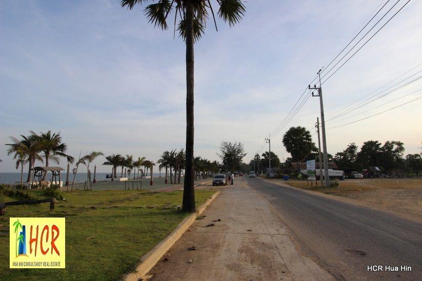 Beachfront 48 Rai Land Prak Nam Pran For Sale! Great location.