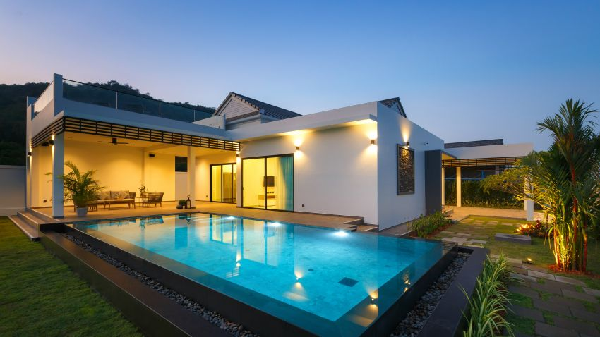Beautiful New large Pool Villa's Type A,B,C,D and E + Bonus/Gift