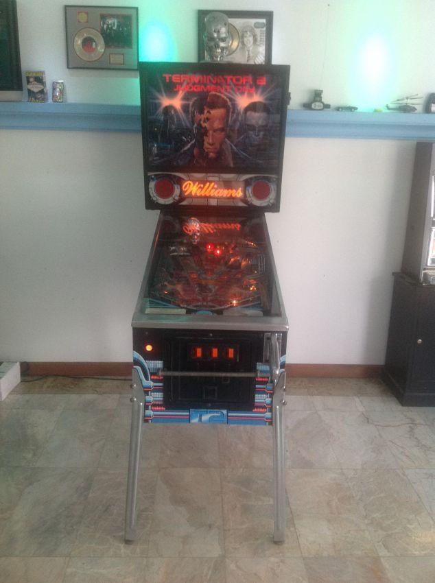 Terminator ll Pinball Machine