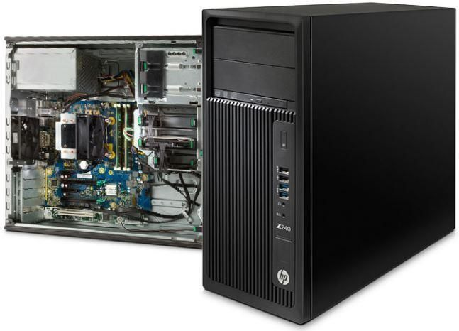 HP Z240 Tower Work Station Computer for sale