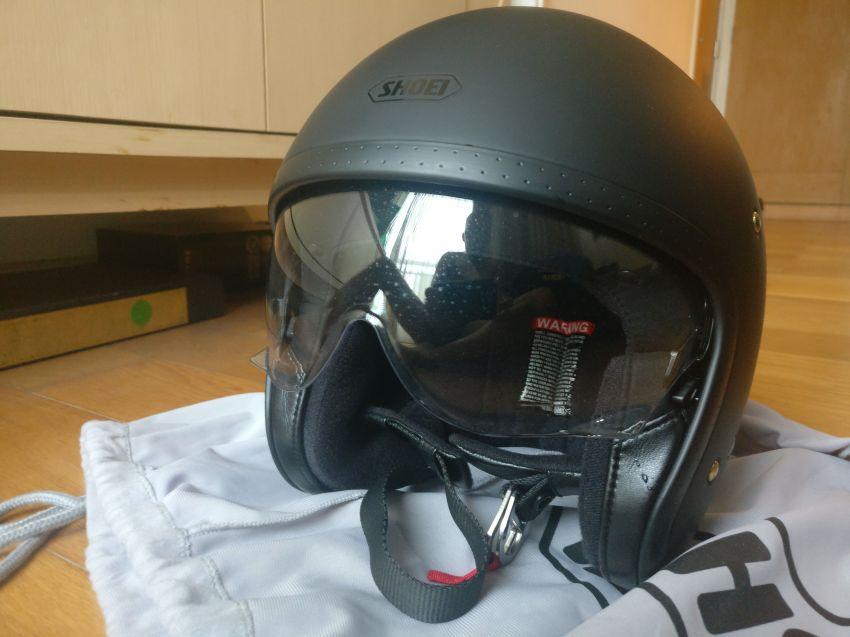 Shoei JO Helmet matte black size S