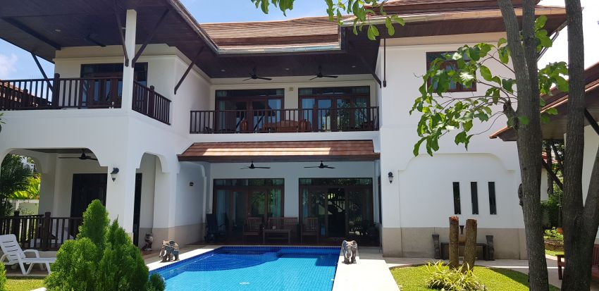 Lovely large family house in Khao Tao Hua Hin FOR SALE with tenant.