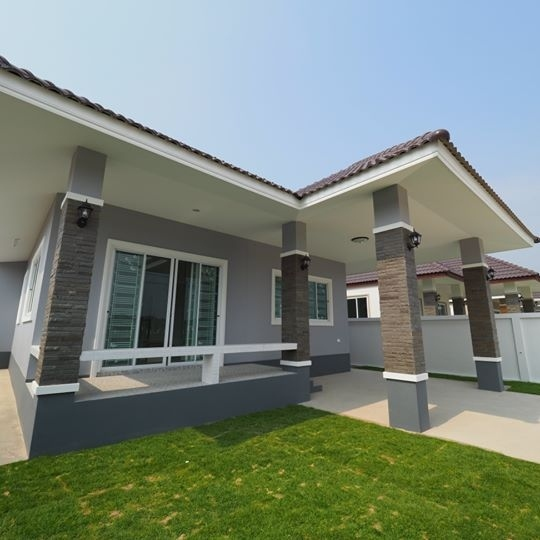 Newly built villa 2-3 bedrooms with finance up to 100% north Hua Hin