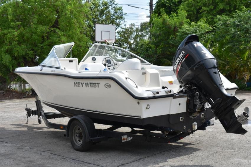 Key West 203DFS, w/Suzuki 140hp 4 strokes 2015 w/trailer & Bimini Incl