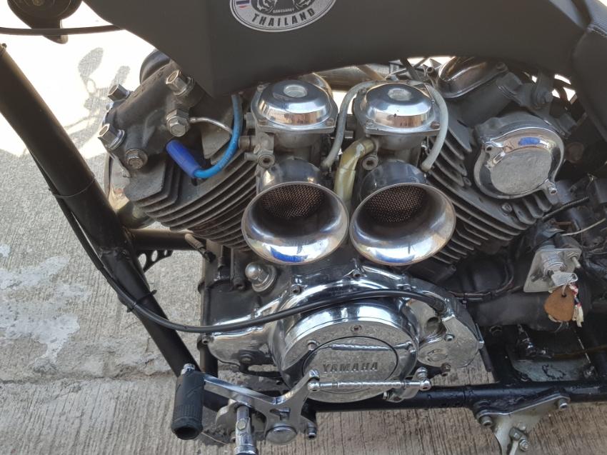 Yamaha 750 cc custom