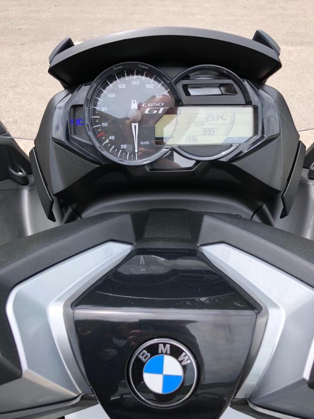 BMW C650GT 2017  2700 km