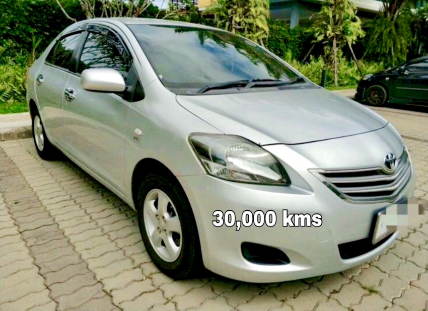 Toyota Vios 30,000 Kms