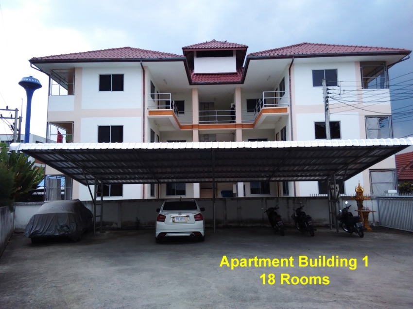 26 Room Apartments & Land next to College & 1.5km to new Grace School
