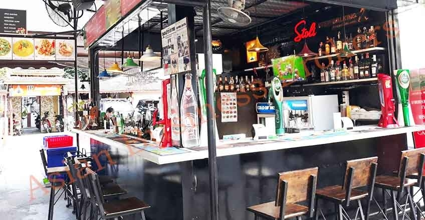 1001005 Proven Successful Market Bar for Sale and Rent Chiang Mai