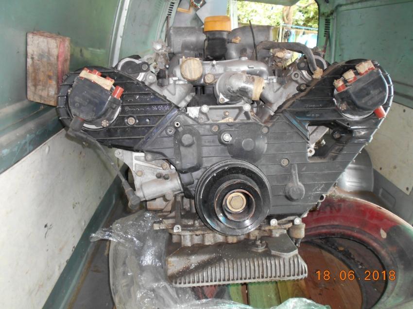 Porsche Engine V 8 twincam M 28/42
