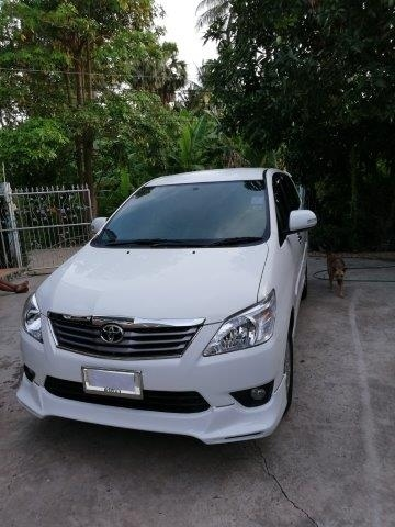 2012 Toyota Innova V Auto In Excellent Condition 7 Seats Loaded