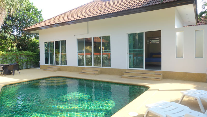 Charming 3 bedroom pool house at good Huai Yai location