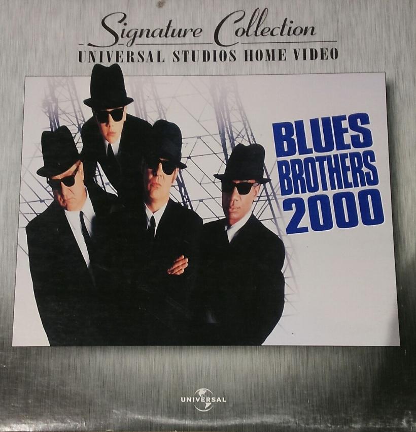 Blues Brothers 2000 AC-3 WS Rare LaserDisc Signature Aykroyd Rock Come