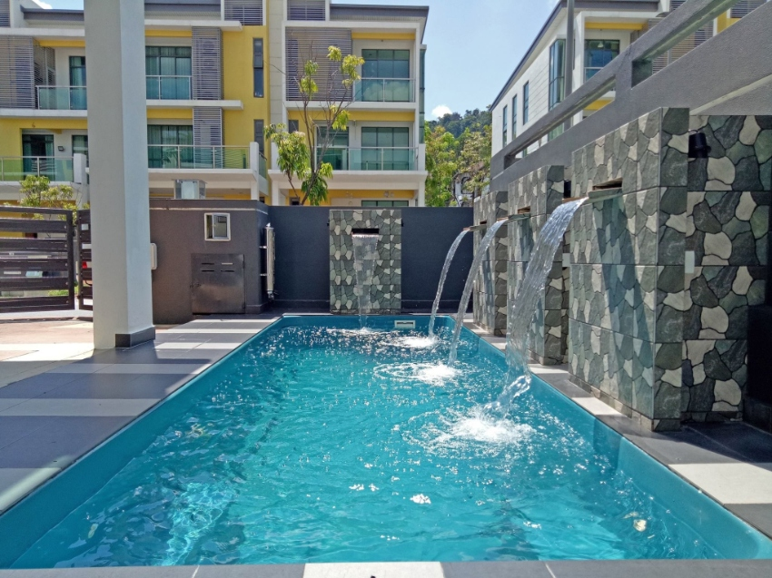 Swimming pool at Any Place in Thailand