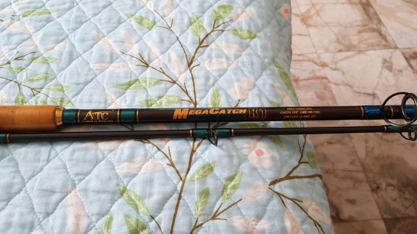 2 QUALITY FISHING RODS FOR SALE