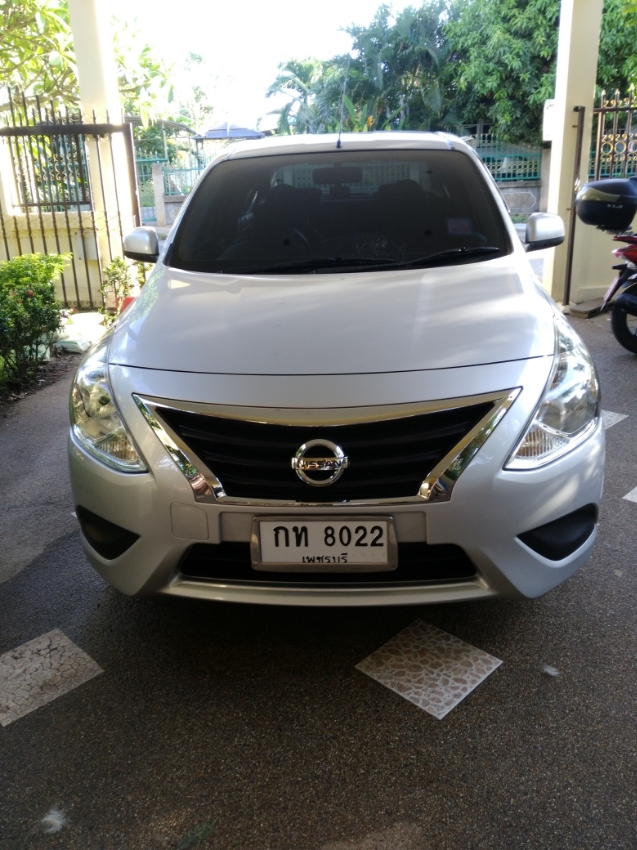Automatic eco car for rent Hua Hin
