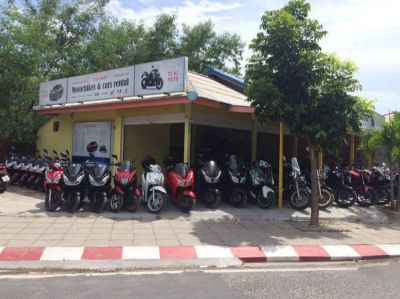 Big bikes & scooters for rent in Koh Samui