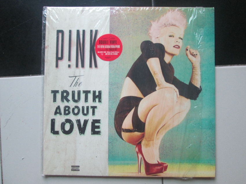 LP Pink - the truth about love