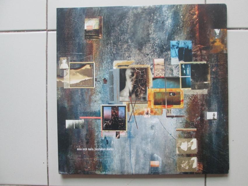 LP Vinyl  - Nine Inch Nails -hesitation marks 2013