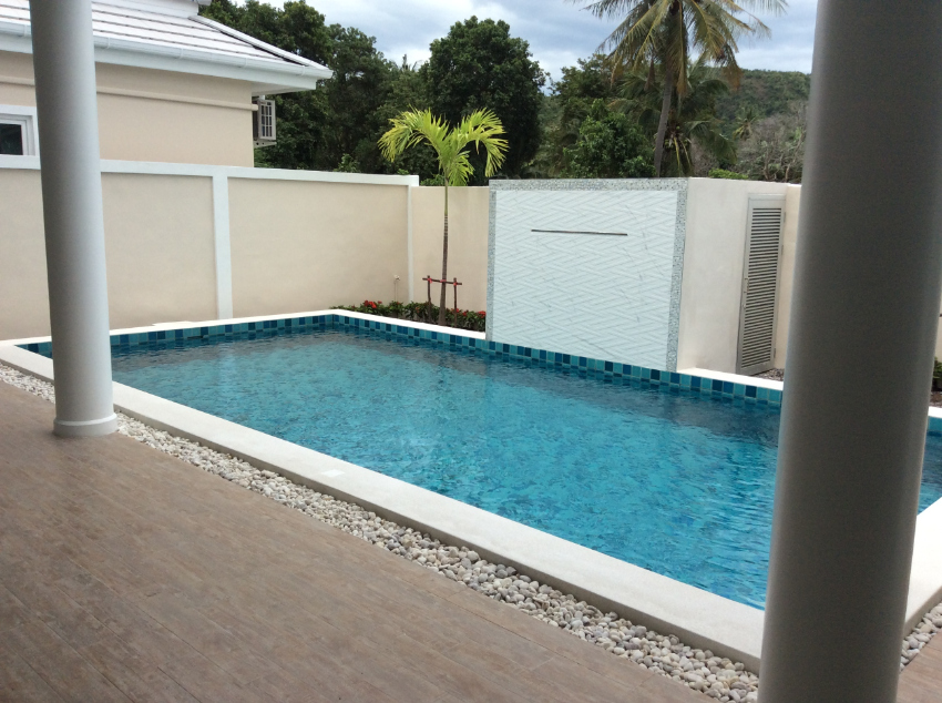 Newly Built L Shaped Pool Villas