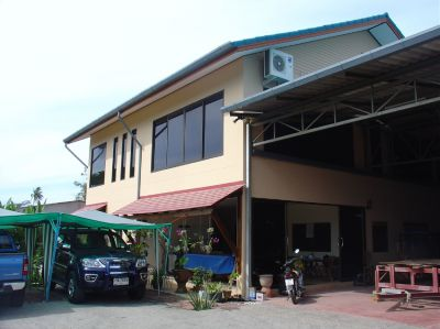 Phuket Boatbuilding Business with Office and Workshop