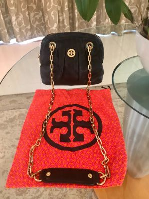 Huge discount Tory Burch Bag black Leather