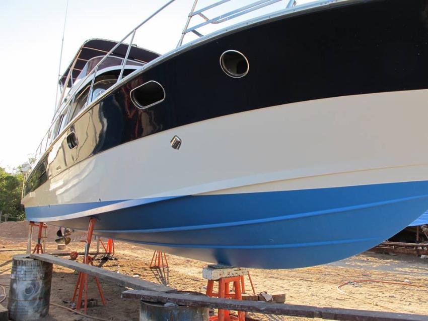Boat valeting service