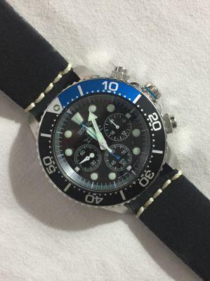 Seiko solar diver, chronograph